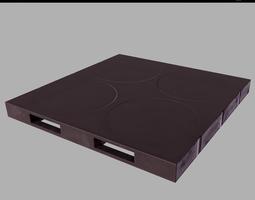 Plastic pallet PBR Game-Ready 3D model