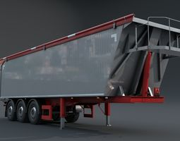 Semitrailer 3D model