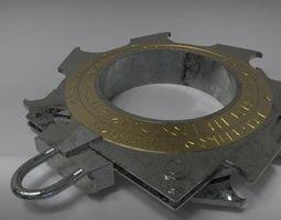 3D printable model Asgardian Loki shackles from avengers 4