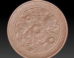 decorative rosettes 3D