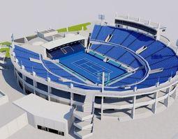 Abu Dhabi International Tennis Centre 3D model