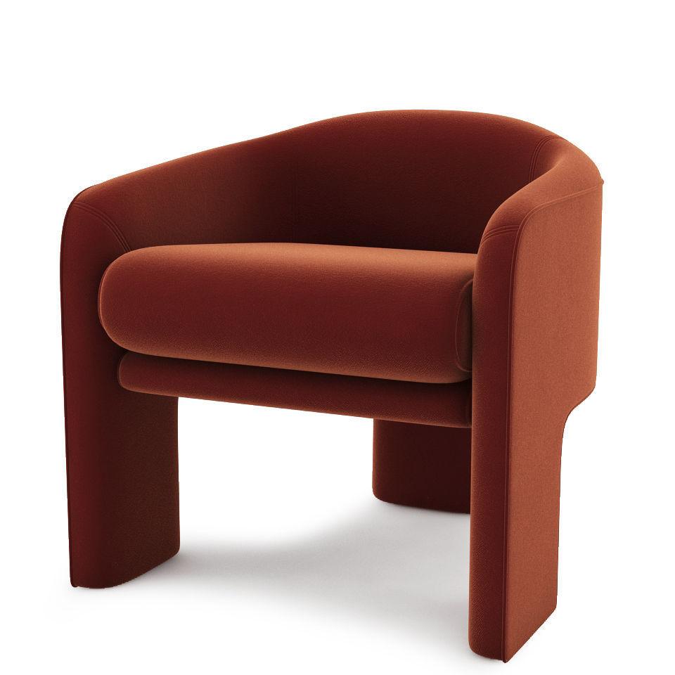 modern retro furniture. Mid-century Modern Retro Lounge Chair 3d Model Max Fbx 1 Furniture
