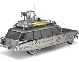 3D model Ghostbusters Cadillac ECTO-1 1959