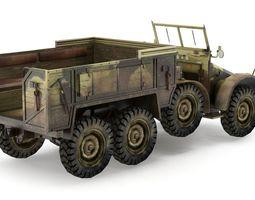 3D asset German Truck KFZ 70