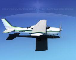 Cessna 210 Centurion V05 3D Model
