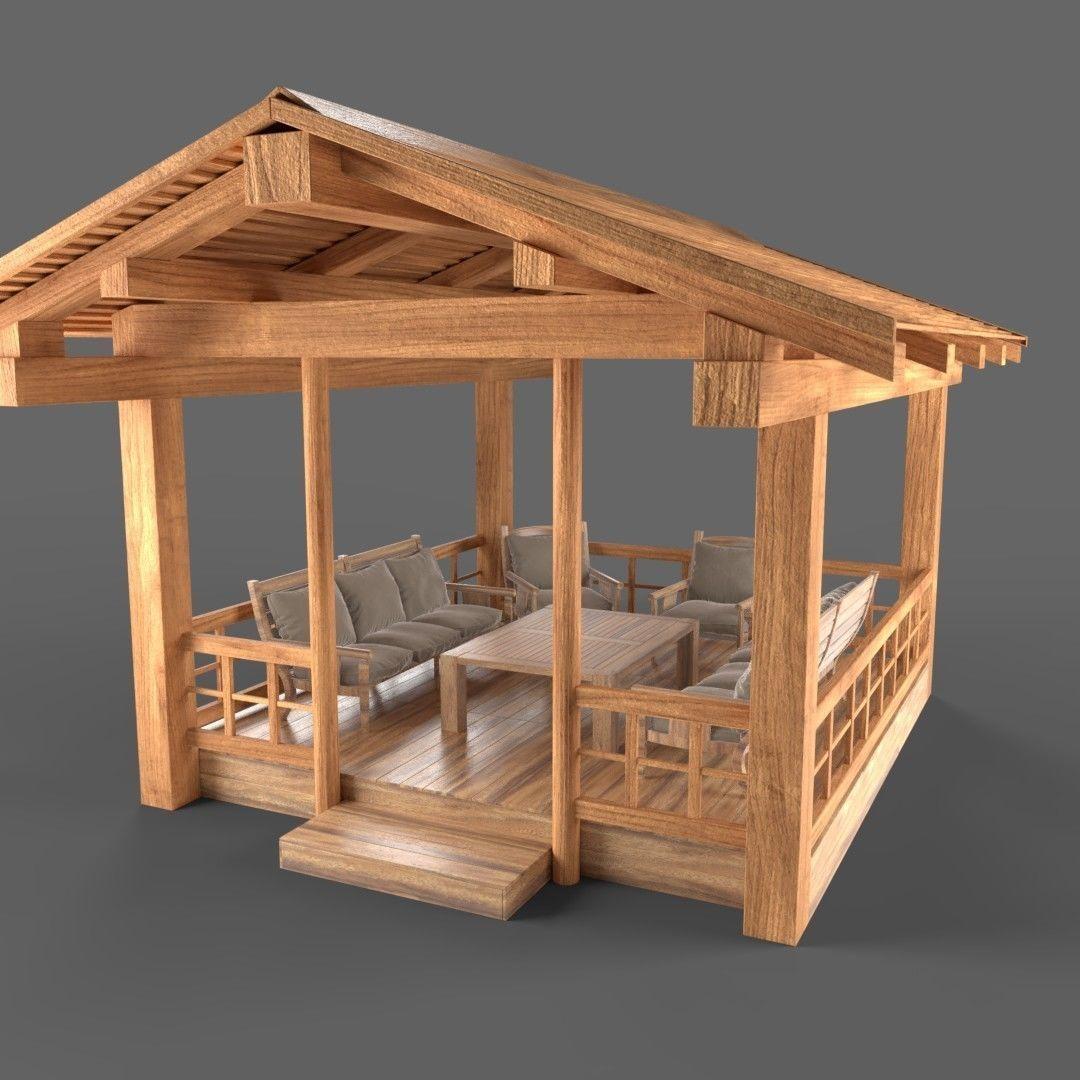 Wooden Pavillon