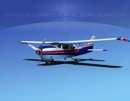 Cessna 210 Centurion V07 3D Model