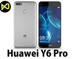 3D model Huawei P9 Lite Mini - Y6 Pro 2017 Silver