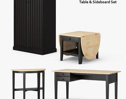 3D Ikea Arkelstorp Set