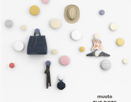 3D model Muuto The Dots Hookers