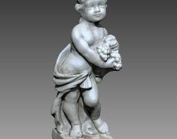 Garden statue 3D print model