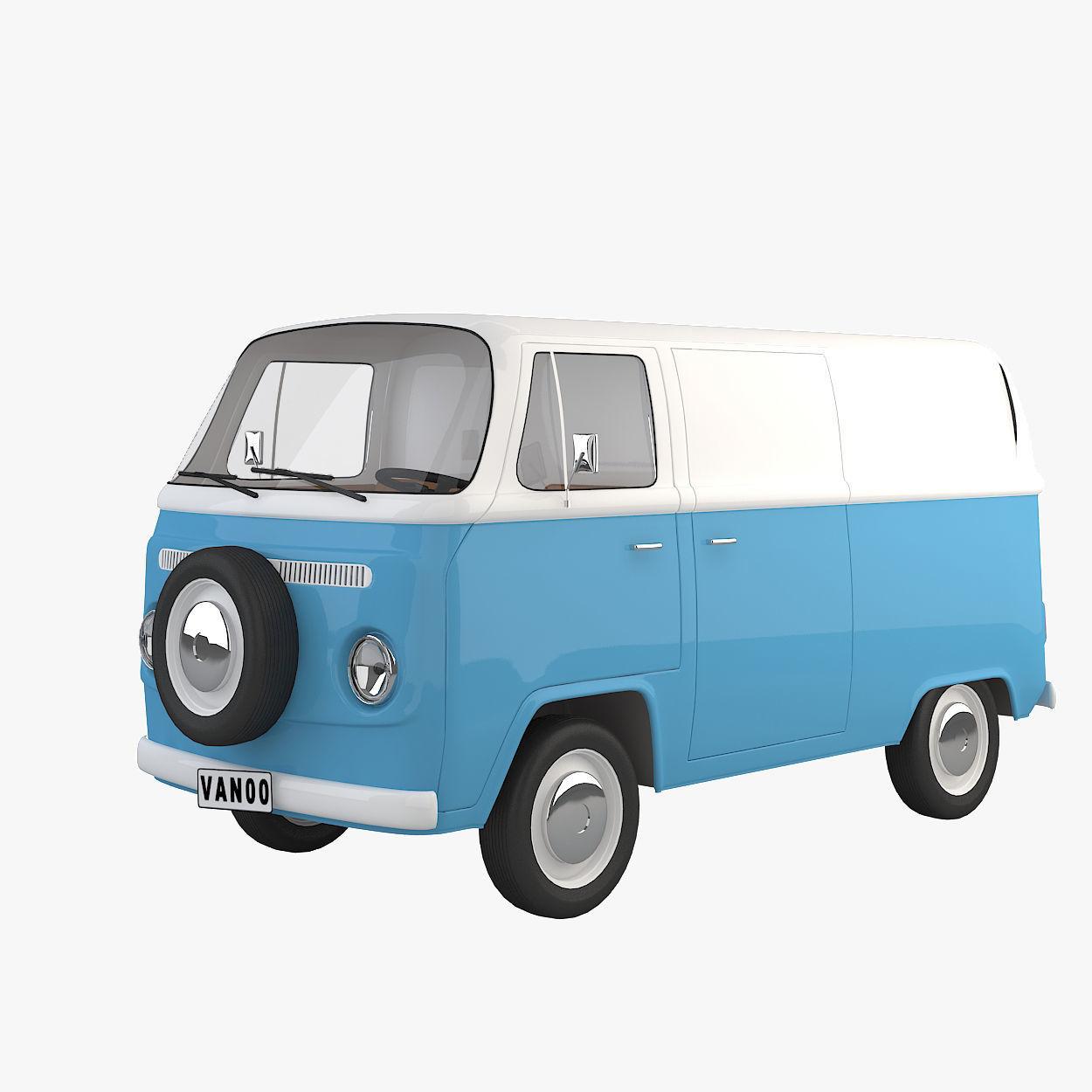 T2 Cartoon Van