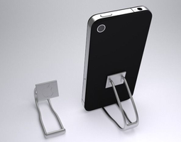 3d printable model iphone stand