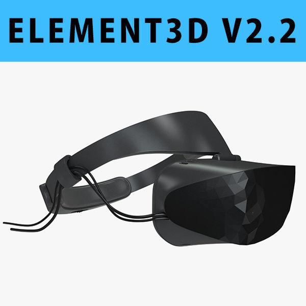 E3D - ASUS Windows Mixed Reality Headset model