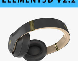 E3D - Apple Beats Studio3 Wireless OverEar Headphones