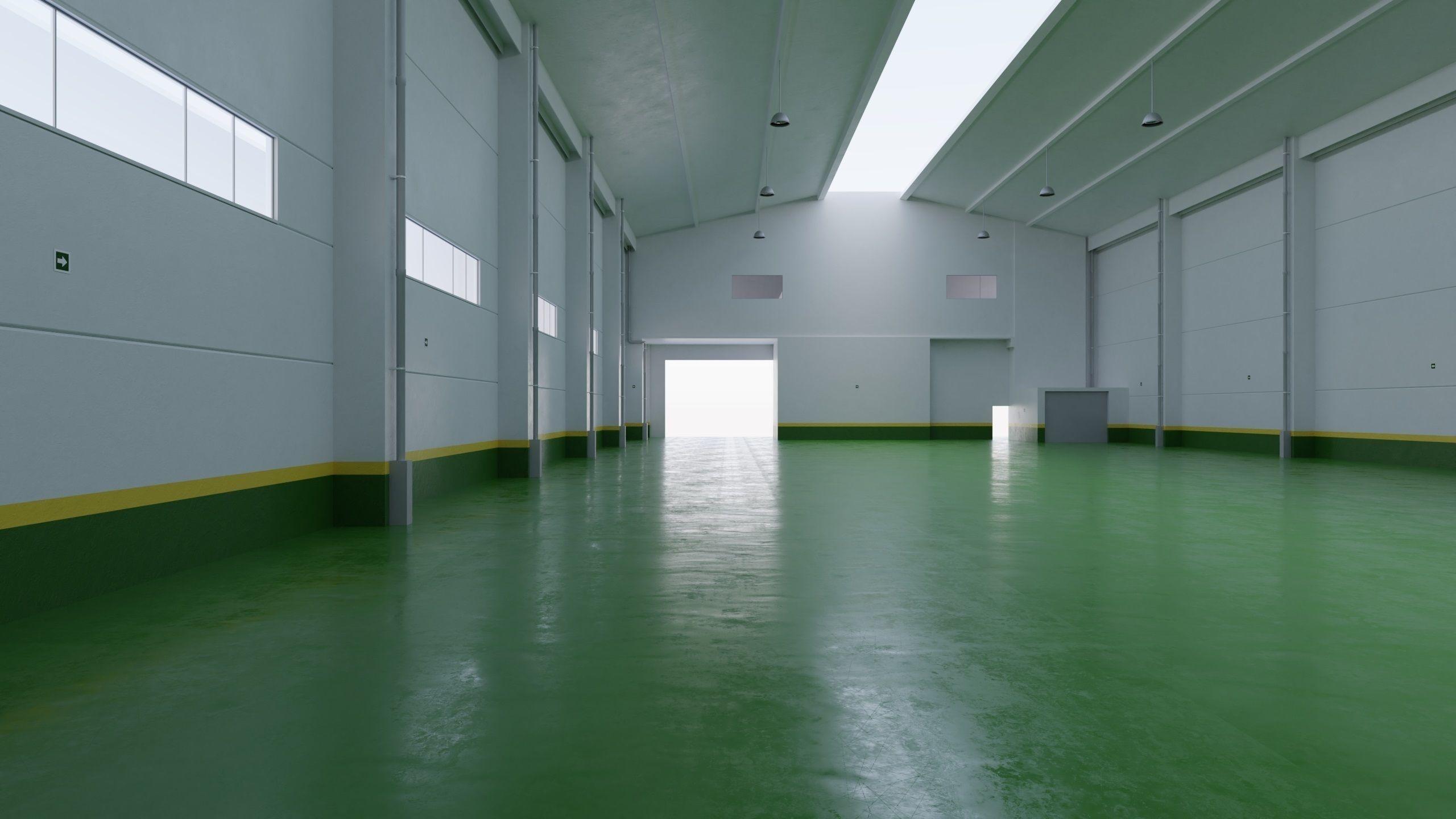Factory Hall Interior 4