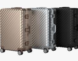 Suitcase 3 3D model