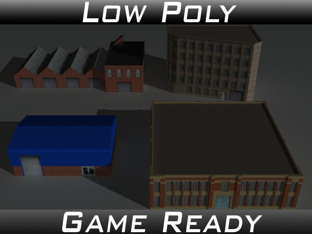 Factory Building Set 2