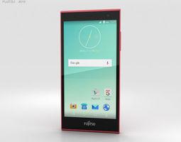 3D model cellular Fujitsu Arrows M02 Pink