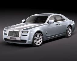 Rolls Royce Ghost 2011 3D Model