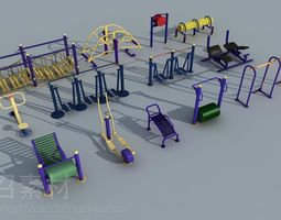 3D sports and gymnastic equipment