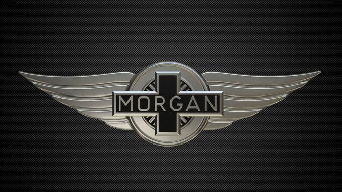 3d Morgan Logo Auto Cgtrader