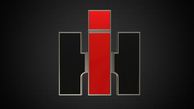 International Harvester Logo >> International Harvester Logo 3d Model