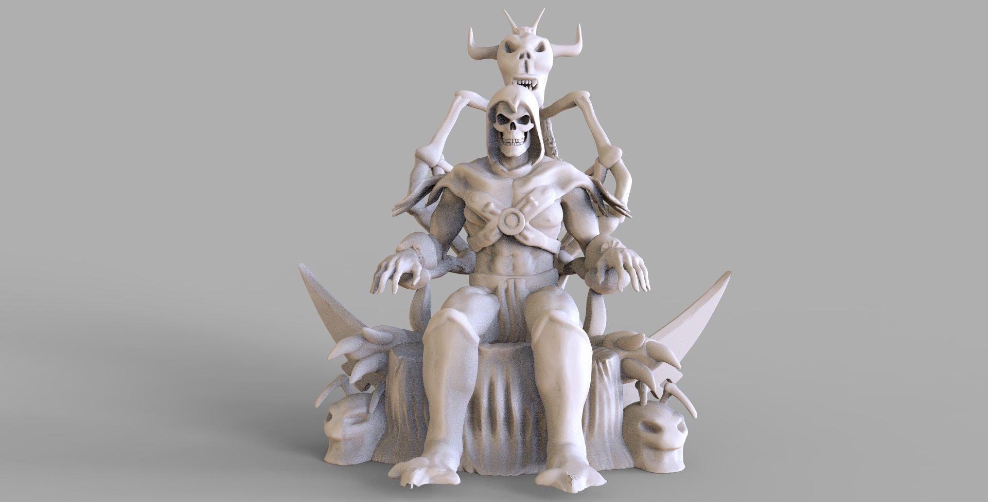 Skeletor Sculpture