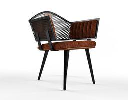 Loft Metal Chair 3D model