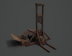 game-ready PBR Guillotine game-ready asset