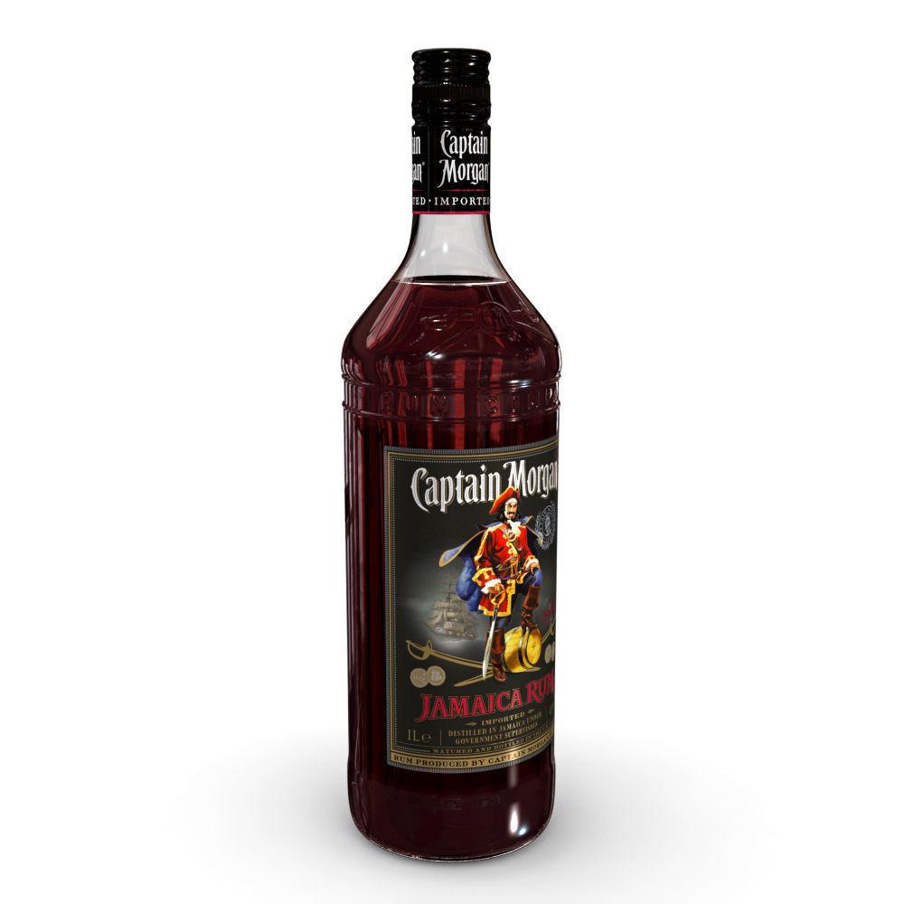 Captain Morgan Jamaica Rum 1L Bottle
