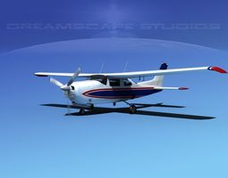 Cessna 210 Centurion V10 3D Model
