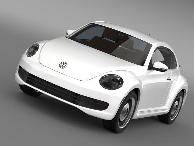Volkswagen Beetle Classic 20153D model