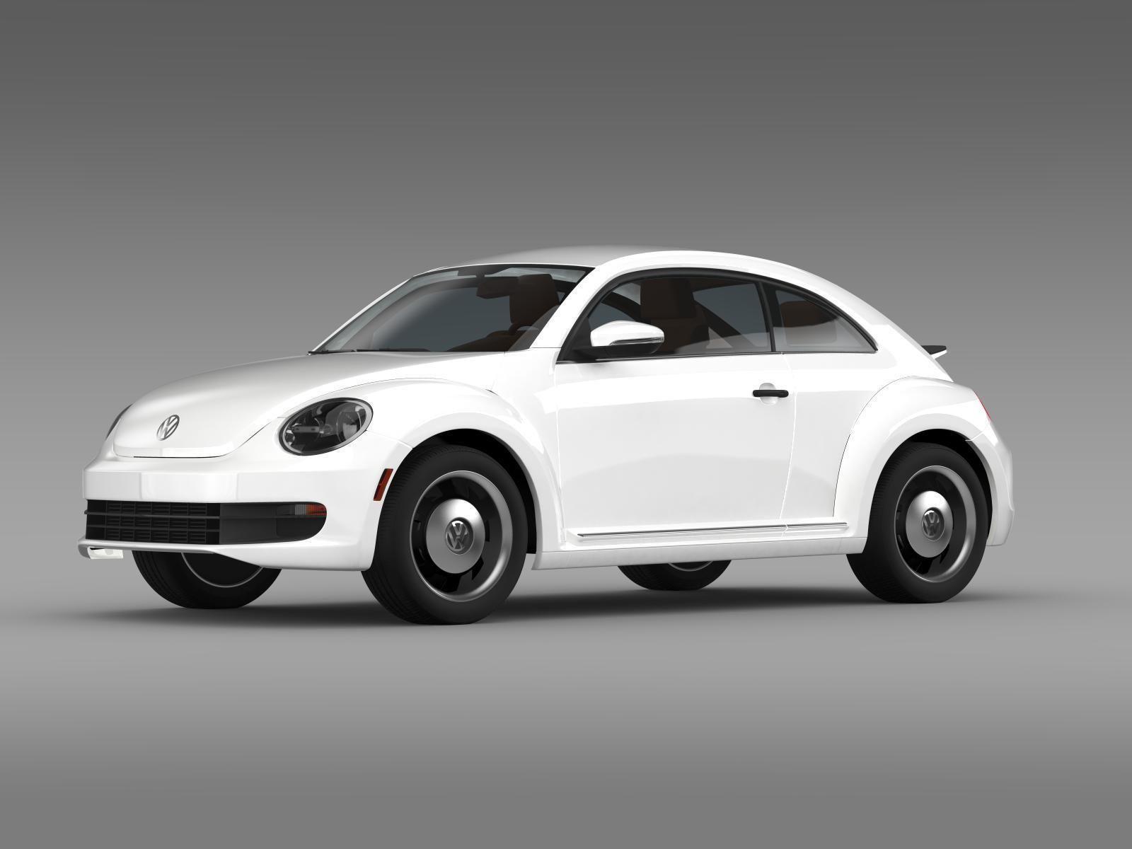 volkswagen beetle classic 2015 3d model max obj 3ds fbx c4d lwo lw lws. Black Bedroom Furniture Sets. Home Design Ideas
