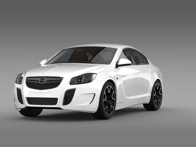 Opel Insignia OPC 2009 20133D model