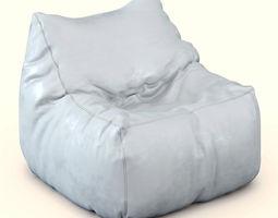 3D model Pouf Jumbo-Bag-Soul-Noir