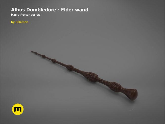 Albus dumbledore elder wand harry potter 3d print model for Dumbledore original wand