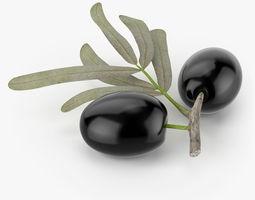 Realistic Olives 2 3D Model