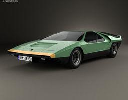 concept 3D Alfa Romeo Carabo 1968