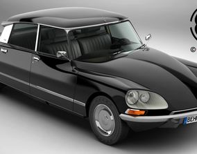 3D model Citroen DS 23 Pallas