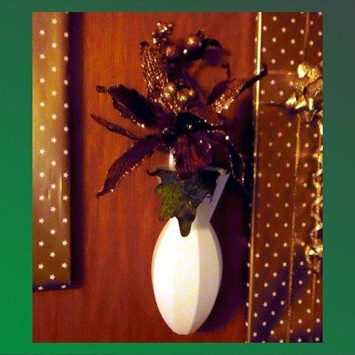 wall vase 3d model stl 1