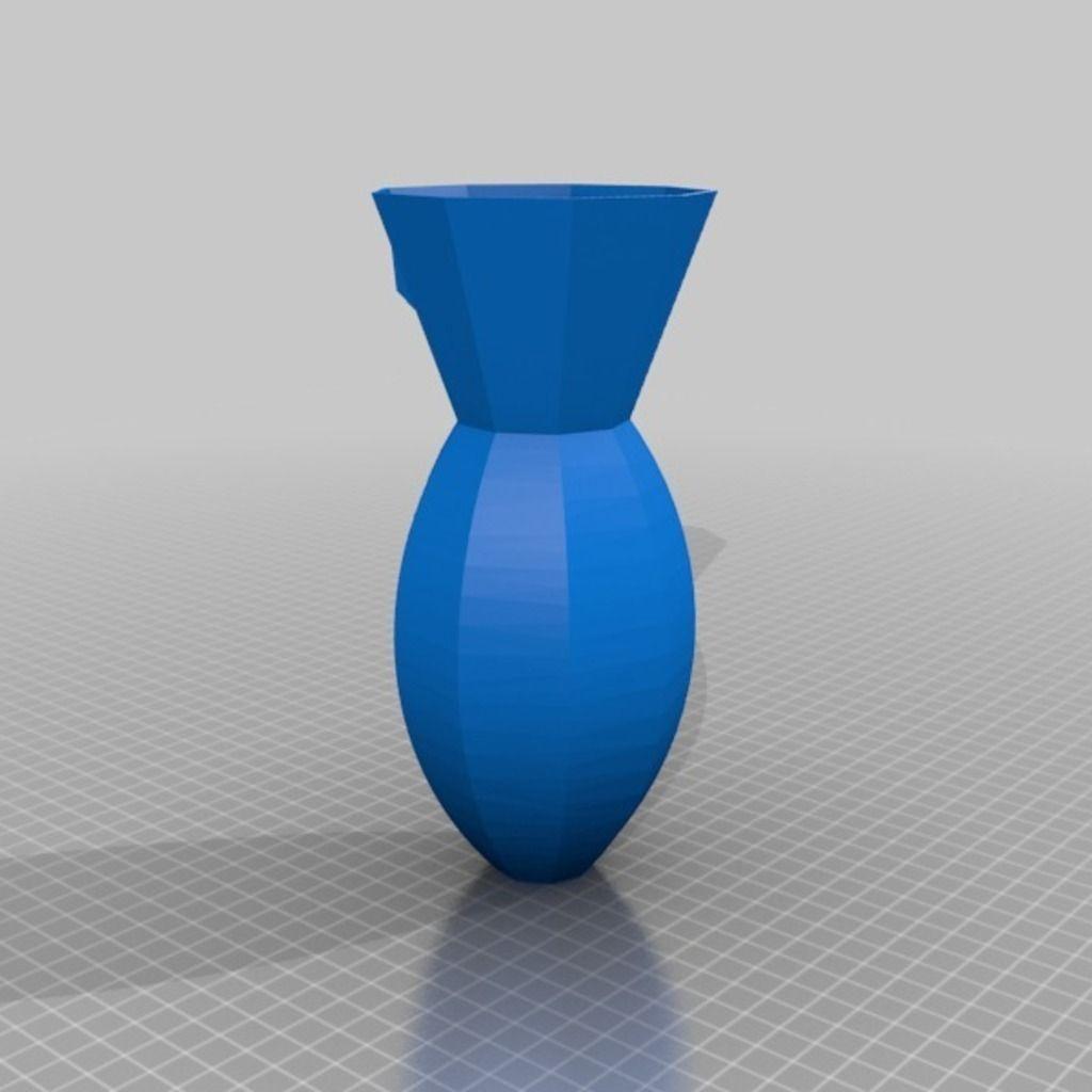 Wall Vase Free 3D Model 3D Printable .stl