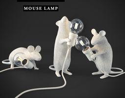lighting 3D SELETTI Mouse Lamps