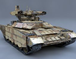3D model BMPT Terminator
