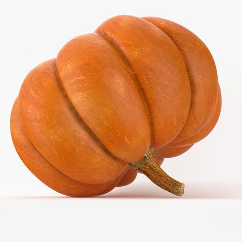 Realistic Pumpkin3D model