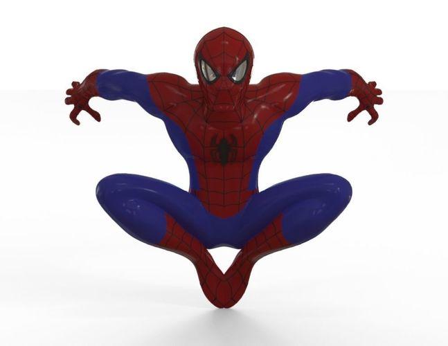 spiderman 3d model stl 1