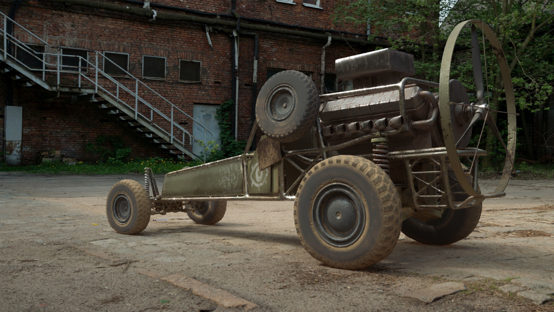 DB-5 scout vehicle
