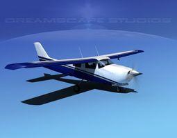 Cessna 210 Centurion V11 3D Model