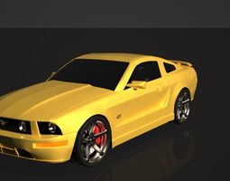 Ford Mustang GT 2005 3D model
