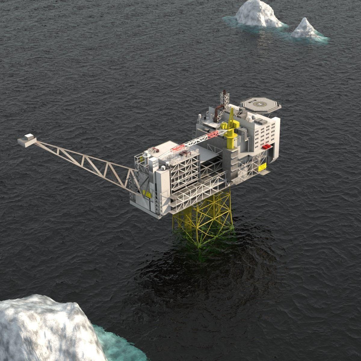 Ivar Aasen Offshore Oil platform